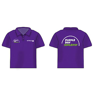 Purple Day Polo UNISEX