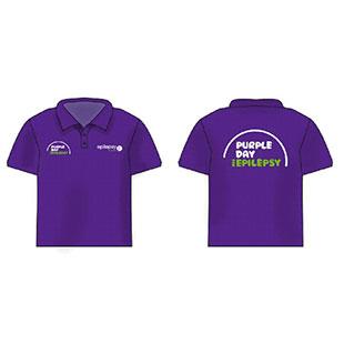 Purple Day Polo Shirt LADIES