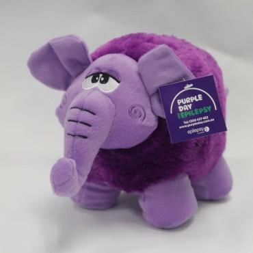 Purple Day Elephant
