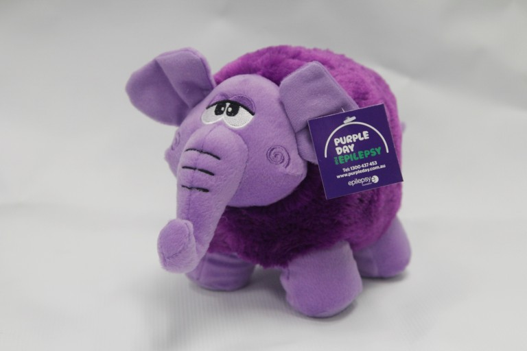 Purple Day Elephant