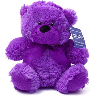 Purple Day Teddy