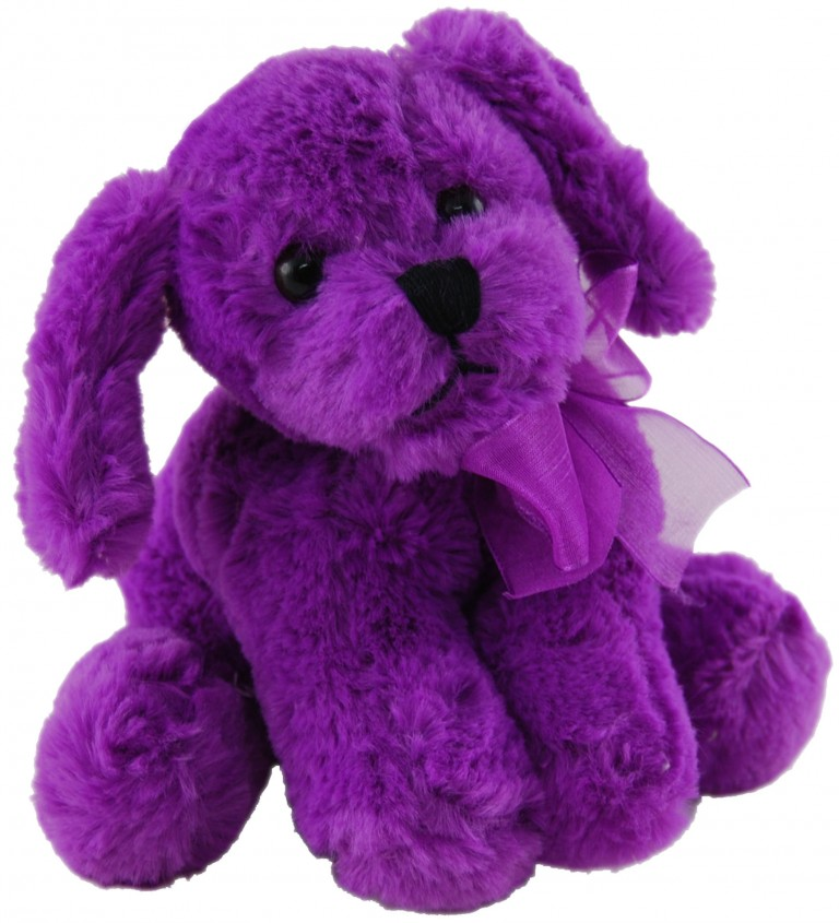Purple Day Puppy