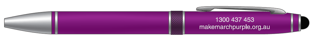 Purple Stylus Pen